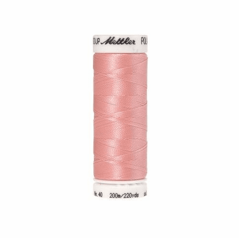 Mettler Polysheen Embroidery Thread Color #2160 Iced Pink