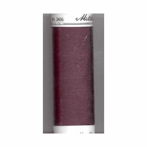 Mettler Polysheen Embroidery Thread Color #2336 Maroon 800M