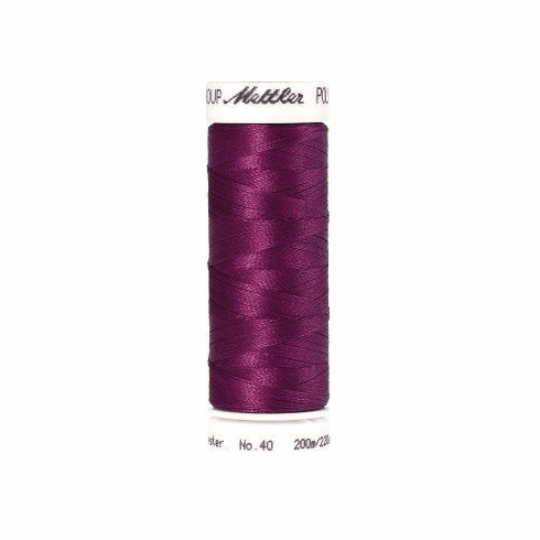 Mettler Polysheen Embroidery Thread Color #2504 Plum