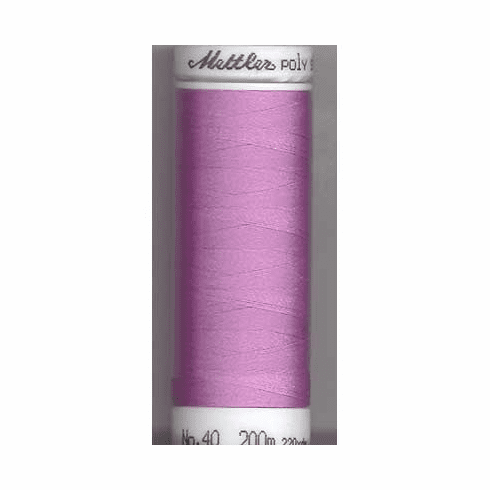 Mettler Polysheen Embroidery Thread Color #2640 Frosted Plum 800M