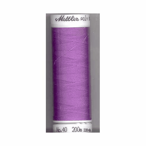 Mettler Polysheen Embroidery Thread Color #2830 Wild Iris 800M