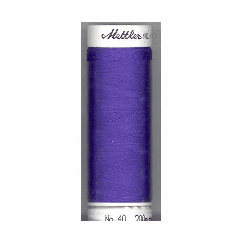 Mettler Polysheen Embroidery Thread Color #3110 Dark Ink 800M