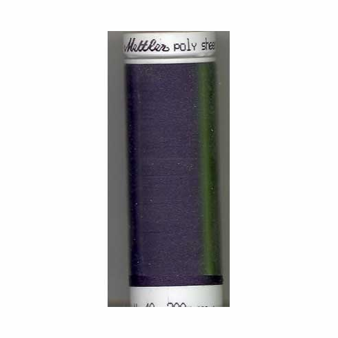 Mettler Polysheen Embroidery Thread Color #3444 Concord 800M