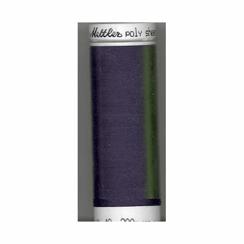 Mettler Polysheen Embroidery Thread Color #3732 Slate Blue