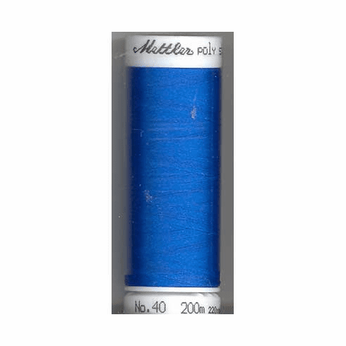 Mettler Polysheen Embroidery Thread Color #3900 Cerulean