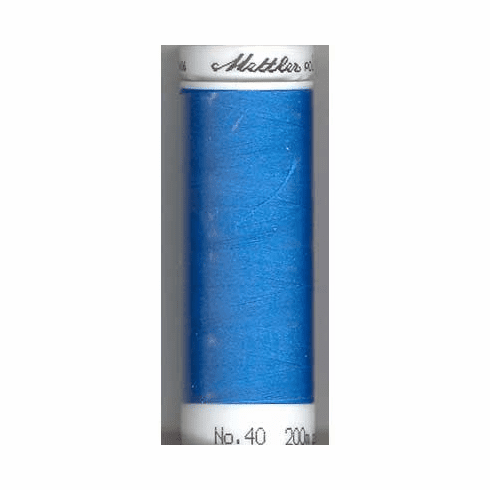Mettler Polysheen Embroidery Thread Color #3901 Tropical Blue 800M