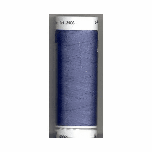 Mettler Polysheen Embroidery Thread Color #3953 Ocean Blue 800M
