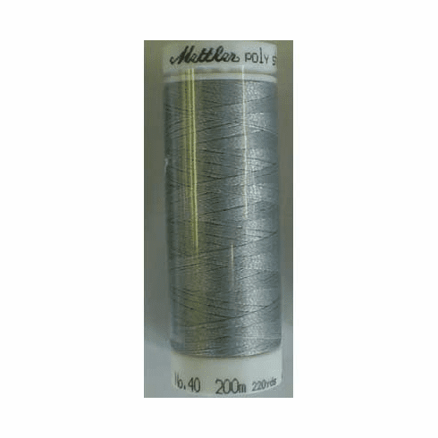 Mettler Polysheen Embroidery Thread Color #4073 Metal