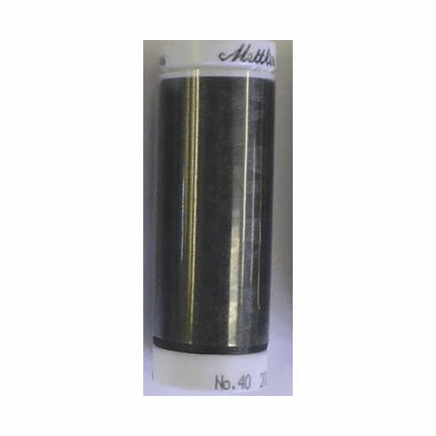 Mettler Polysheen Embroidery Thread Color #4174 Charcoal 800M