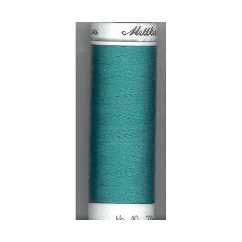 Mettler Polysheen Embroidery Thread Color #4452 Truly Teal
