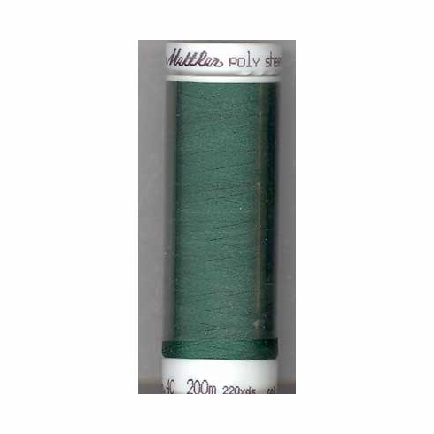 Mettler Polysheen Embroidery Thread Color #5324 Bright Green 800M