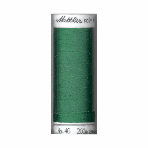 Mettler Polysheen Embroidery Thread Color #5415 Irish Green 800M