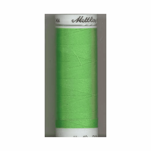 Mettler Polysheen Embroidery Thread Color #5500 Limedrop 800M