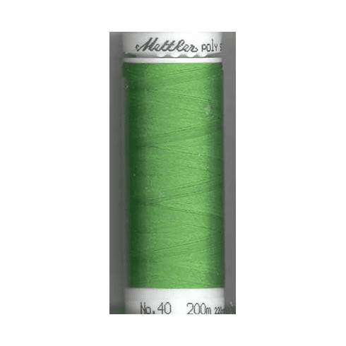 Mettler Polysheen Embroidery Thread Color #5613 Light Kelly 800M