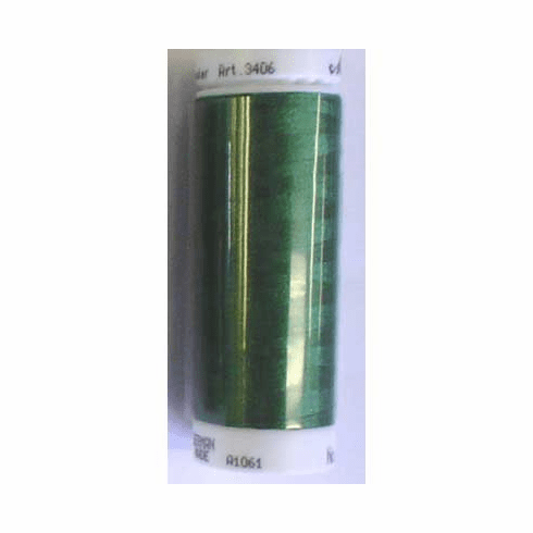 Mettler Polysheen Embroidery Thread Color #5643 Green Dust