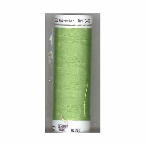Mettler Polysheen Embroidery Thread Color #5822 Kiwi 800M