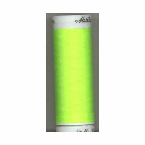 Mettler Polysheen Embroidery Thread Color #5940 Sour Apple 800M
