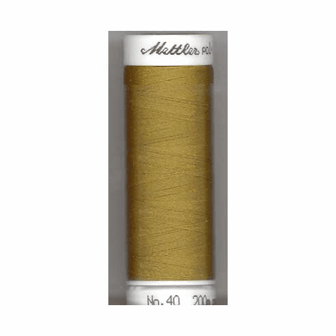 Mettler Polysheen Embroidery Thread Color #6133 Caper 800M