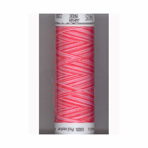 Mettler Polysheen Embroidery Thread Color #9405 Strawberry Blitz 800M