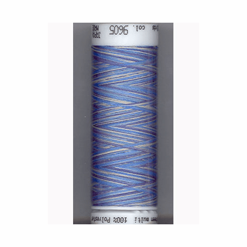 Mettler Polysheen Embroidery Thread Color #9605 Faded Denim 800M