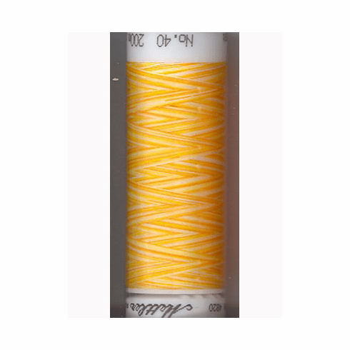 Mettler Polysheen Embroidery Thread Color #9925 Sunny Rays