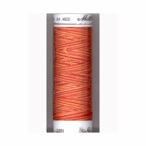 Mettler Polysheen Embroidery Thread Color #9934 Fire Flames