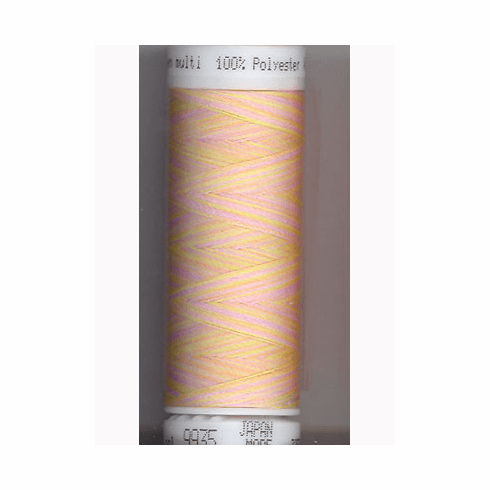 Mettler Polysheen Embroidery Thread Color #9935 Baby Girl Pastels