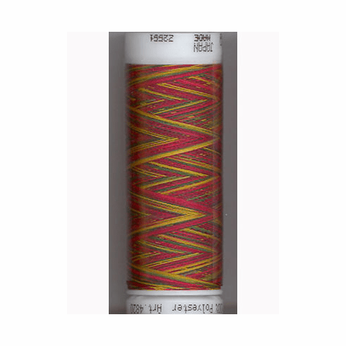 Mettler Polysheen Embroidery Thread Color #9938 Holiday Traditions 800M