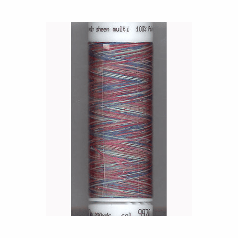 Mettler Polysheen Embroidery Thread Color #9970 Royal Gems