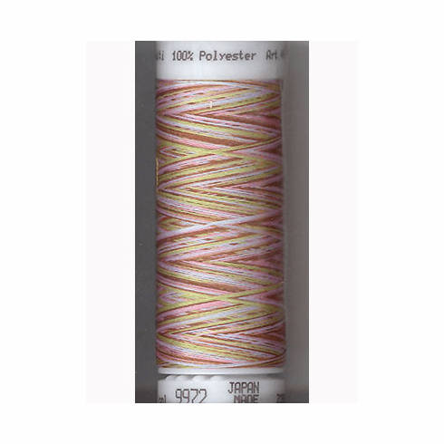 Mettler Polysheen Embroidery Thread Color #9972 Tween Fashion 800M