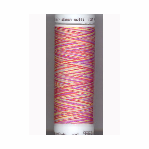 Mettler Polysheen Embroidery Thread Color #9983 Wild Flowers