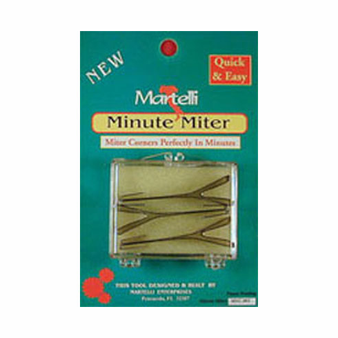 "Minute Miter Clips, 0.5"" 4 Count"