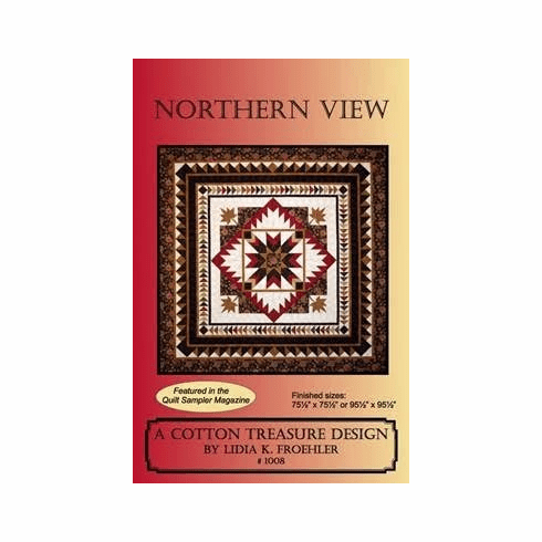 Northern View Pattern by Lidia K. Froehler of A Cotton Treasure Design