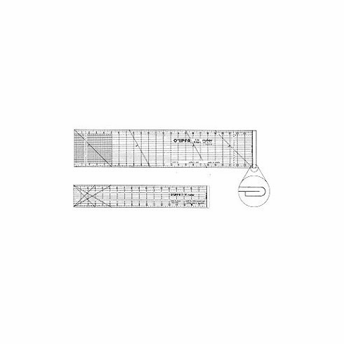"O'Lipfa 4"" x 36"" Lip Edge Ruler"