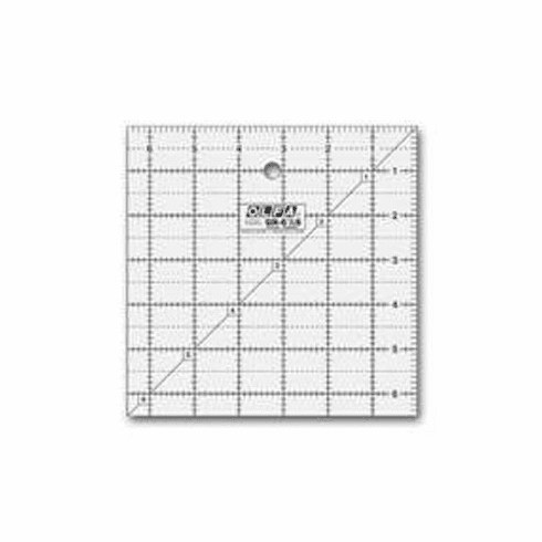 "Olfa Quilting Square Ruler 6.5"" x 6.5"""