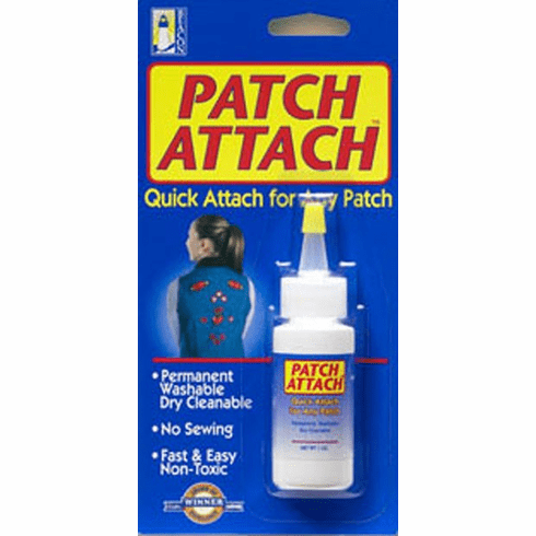 Patch Attach Glue: Quick Attach Glue for any Patch, 24ml (1 oz.)