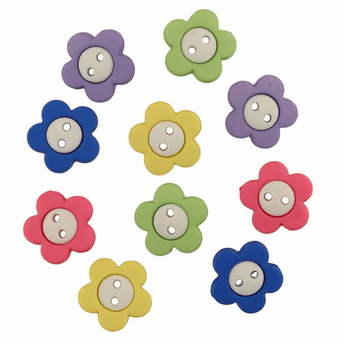Pretty Posies Buttons