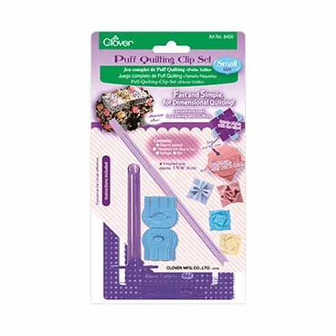 "Puff Quilting Clip ""Starter Set"" - Small Size (Approx. Finished size 4 cm)"