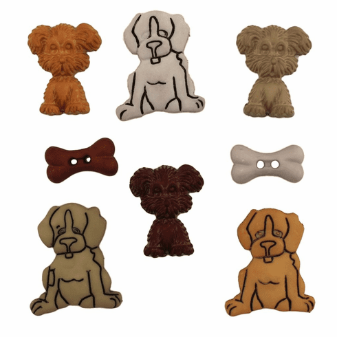 Puppy Love Buttons