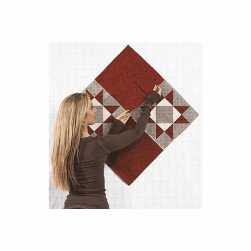 Quilt Design Wall - Arrange Quilt Blocks/Patchwork on the Design Wall without Pinning