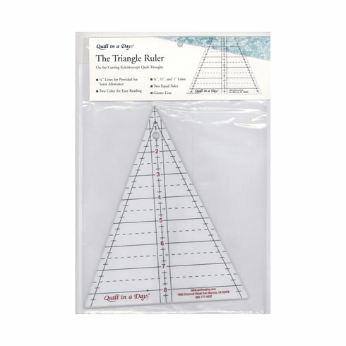 Quilt In A Day Triangle Ruler
