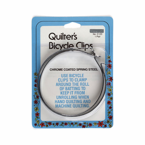 Quilter's Bicycle Clips