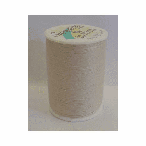 Signature Size 20 Cotton Quilting Thread 200 yard spool #028 Ivory