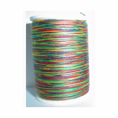 Signature Size 20 Cotton Quilting Thread 200 yard spool Variegated #M01 Brights