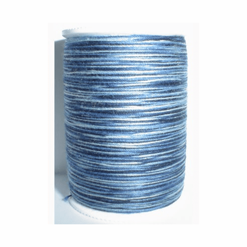 Signature Size 20 Cotton Quilting Thread 200 yard spool Variegated #M05 Denim