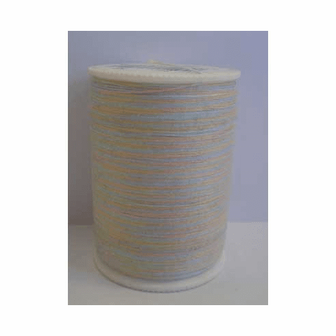 Signature Size 20 Cotton Quilting Thread 200 yard spool Variegated #M07 Pastels