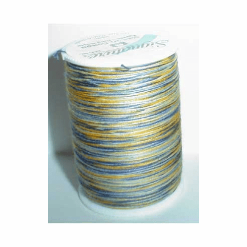 Signature Size 20 Cotton Quilting Thread 200 yard spool Variegated #M17 French Country