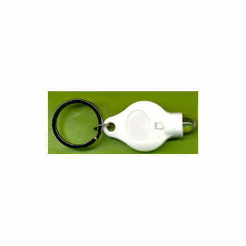 Super Bright Keychain LED Mini-Flashlight, white colour, 1 count