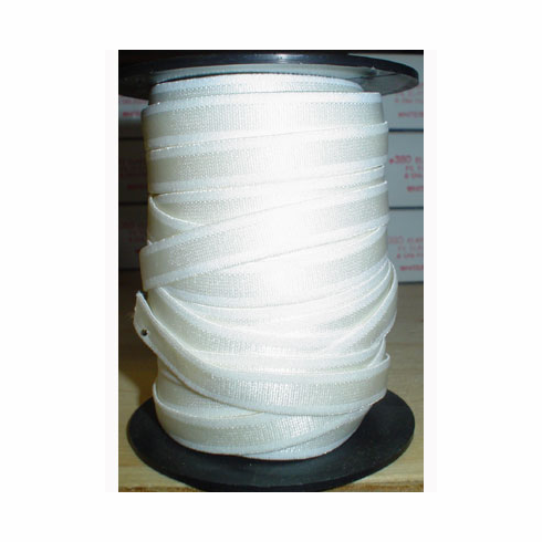 White Bra Strap Elastic by the Roll