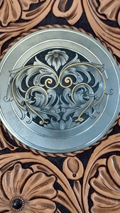Silver and Gold inlay